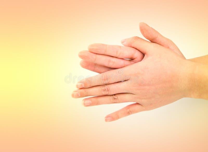 Série médica do gesto de mão da lavagem fotos de stock royalty free