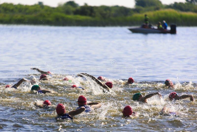 Série ocidental do Triathlon de Suburu fotografia de stock royalty free
