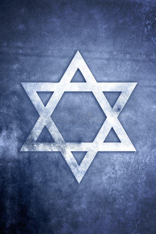 Série religiosa do símbolo - judaísmo ilustração stock