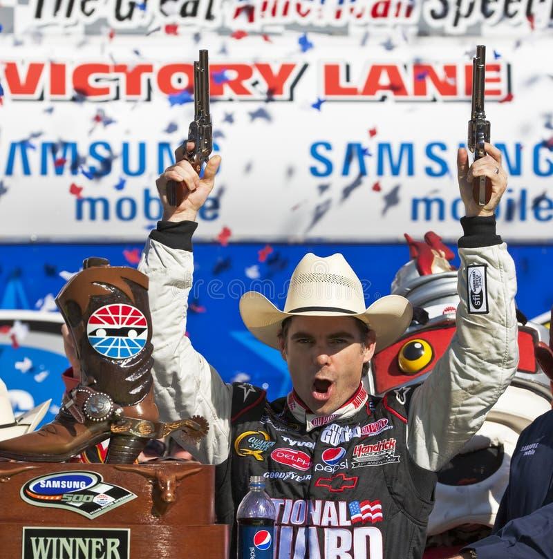 Série Samsung do copo de NASCAR Sprint 500 abril 5 fotos de stock