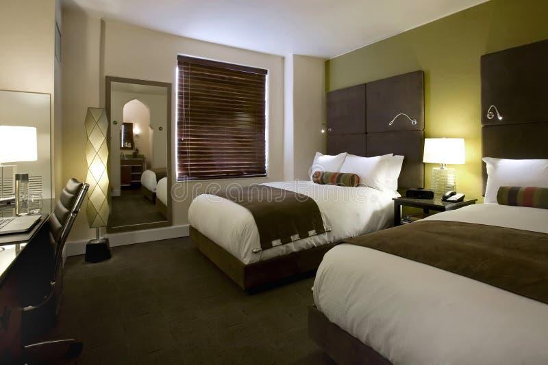Séries e quartos de convidado em um hotel do boutique imagem de stock royalty free
