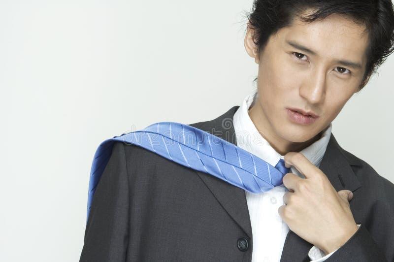 Download Sério foto de stock. Imagem de asian, esperto, camisa, macho - 100268