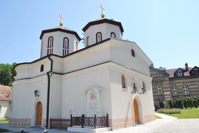 Sérvia de Rakovica Belgrado do monastério fotografia de stock
