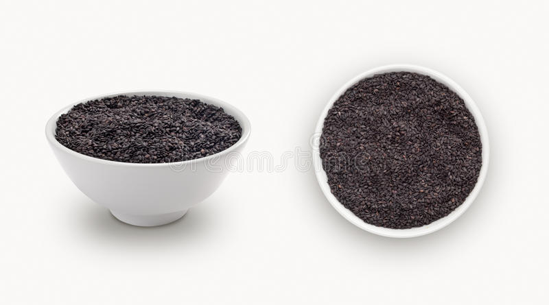 Download Sésamo negro imagen de archivo. Imagen de cocina, comestible - 42429477