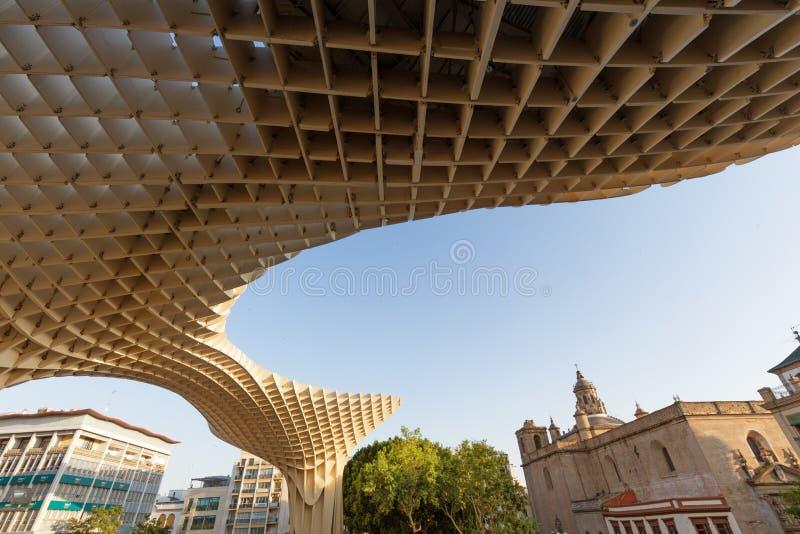 Séville, Espagne, architecture moderne soit rgen Mayer, Metropol de ¼ de la conception JÃ parasol des soies De Séville en juin 20 photographie stock