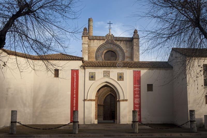 Séville, monastère royal du Cartuja De Santa Mara de las Cuevas image stock