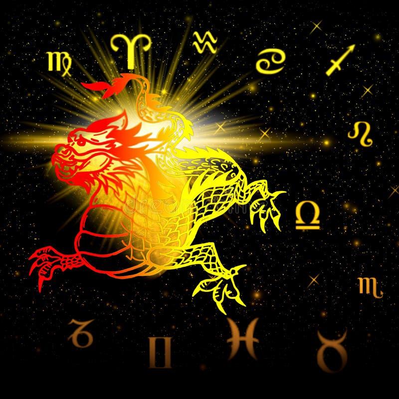 Símbolo 2012 años - dragón libre illustration
