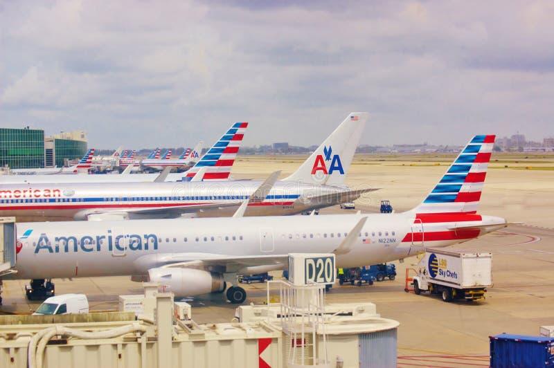 Símbolo american airlines imagem de stock