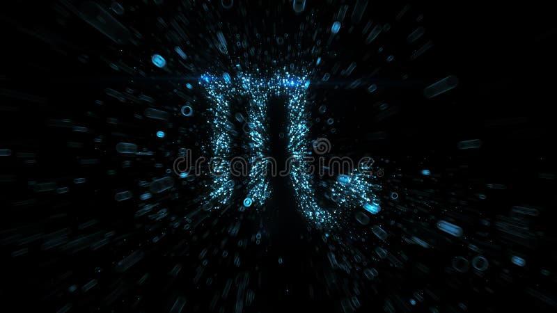 Símbolo astrológico escorpio en el espacio imágenes de archivo libres de regalías