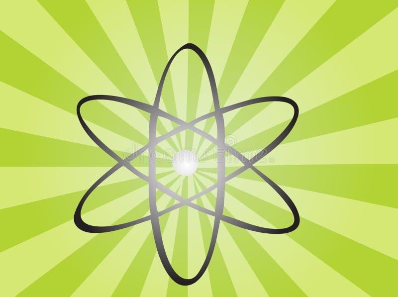 Símbolo atômico ilustração do vetor