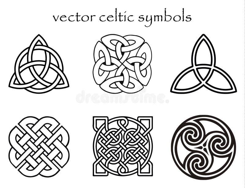 Símbolo céltico stock de ilustración