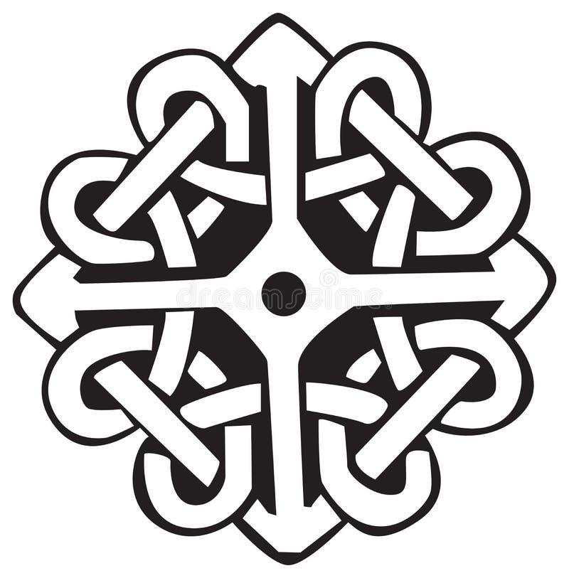 Símbolo celta ilustração do vetor