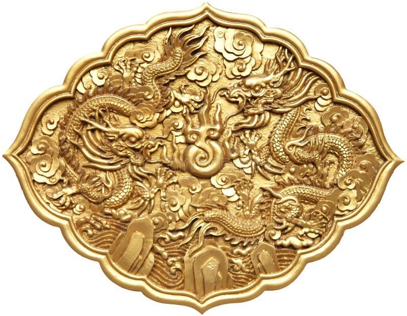 Símbolo chino del dragón foto de archivo libre de regalías