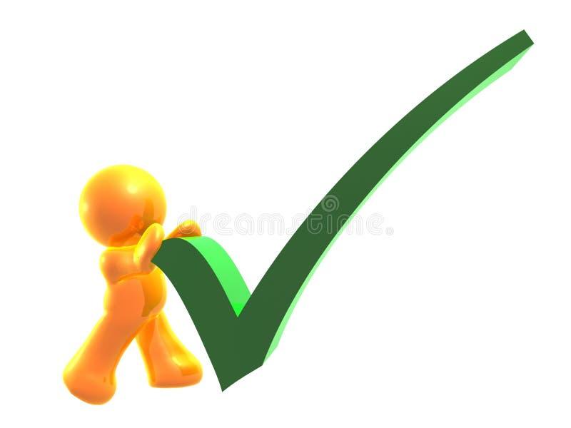 Símbolo correto do ícone da lista de verificação