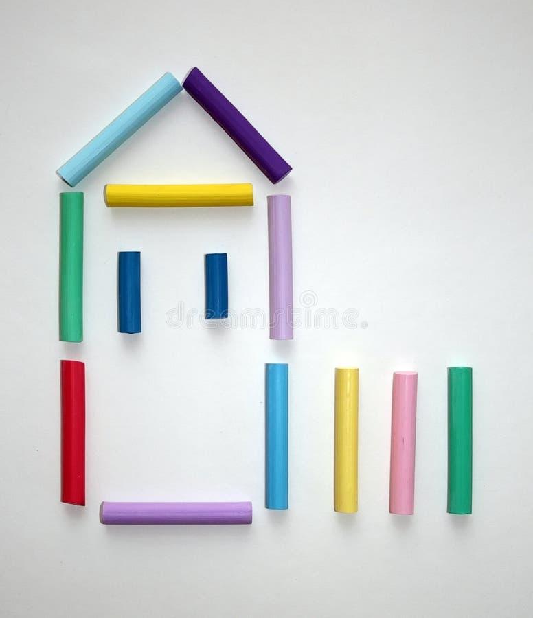 Símbolo da casa. imagem de stock royalty free