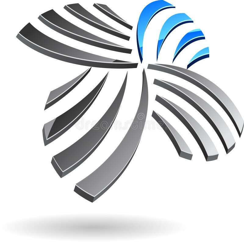 Símbolo da companhia. ilustração royalty free