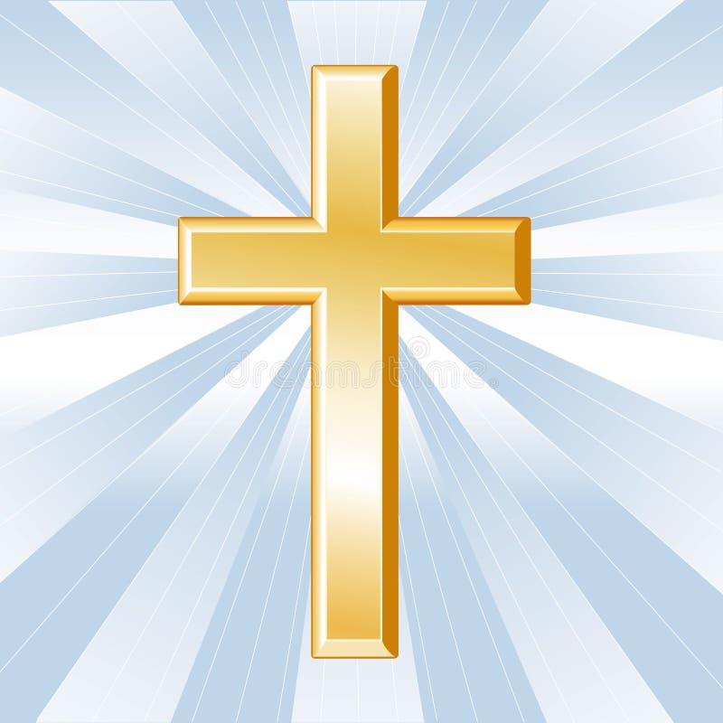 Símbolo da cristandade ilustração royalty free