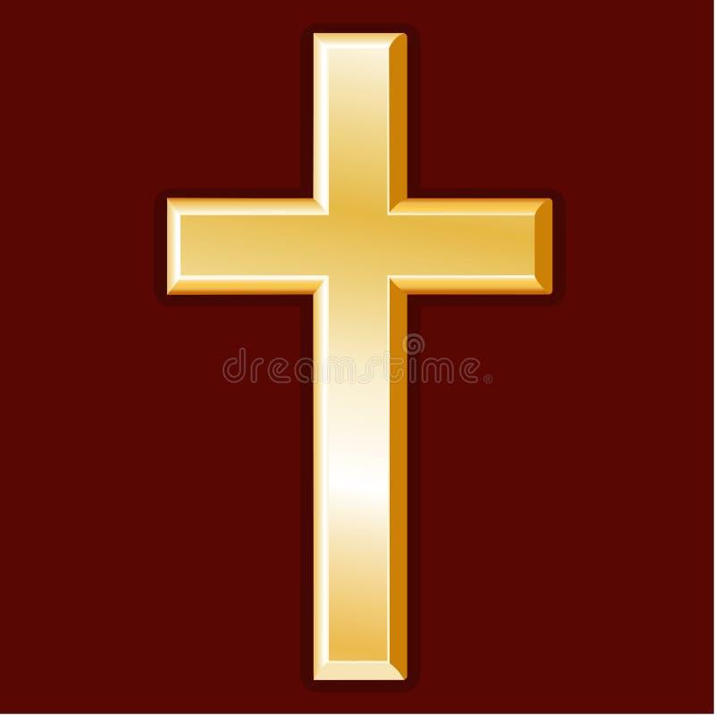 Símbolo da cristandade (JPG +EPS) ilustração royalty free