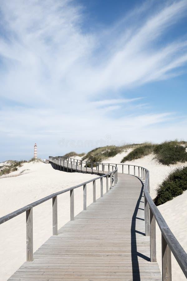 Símbolo da Dinamarca Barra do Praia imagens de stock royalty free