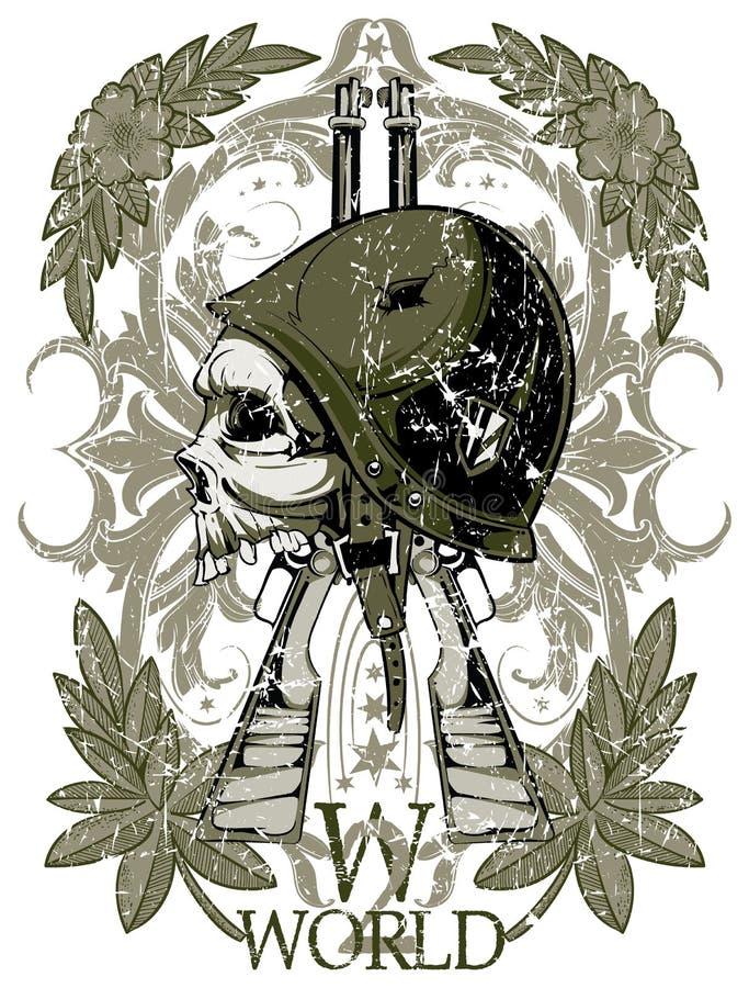Símbolo da guerra mundial ilustração royalty free