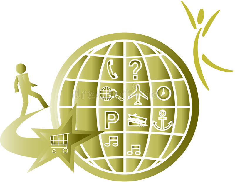 Download Símbolo da loja ilustração stock. Ilustração de ligação - 16850235