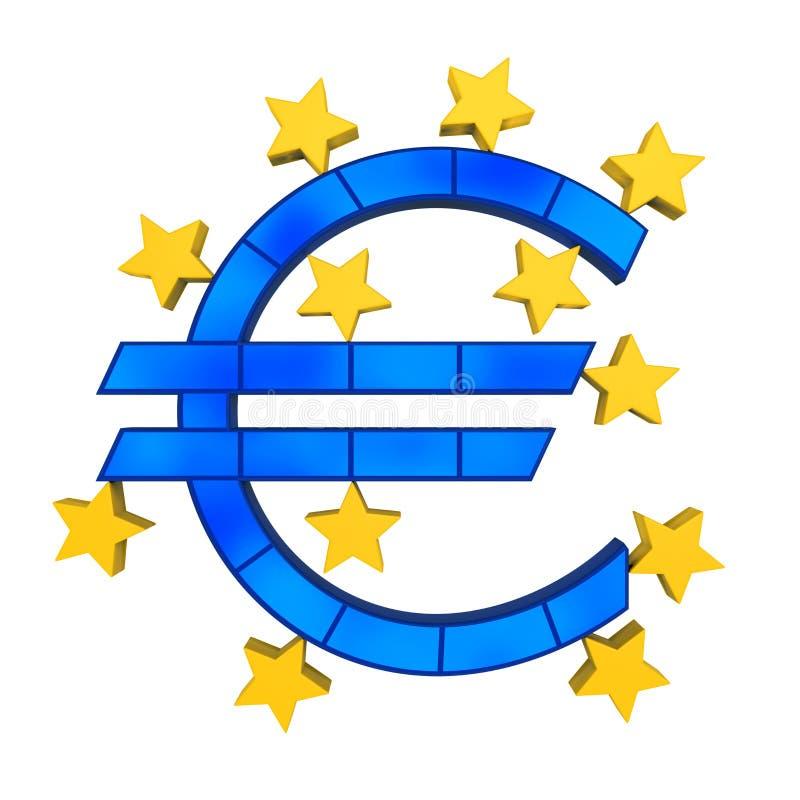Símbolo da União Europeia ilustração do vetor