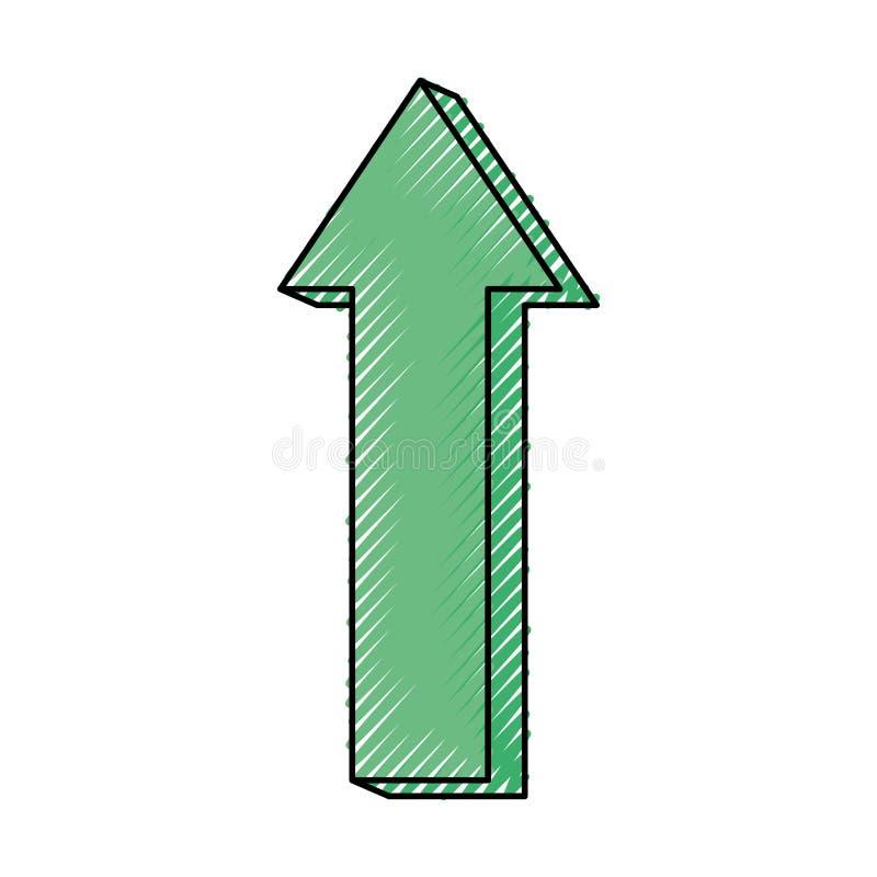 Símbolo das setas de Infographic ilustração do vetor