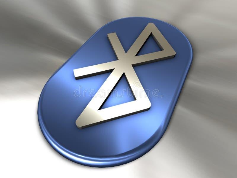 Símbolo de Bluetooth ilustração royalty free