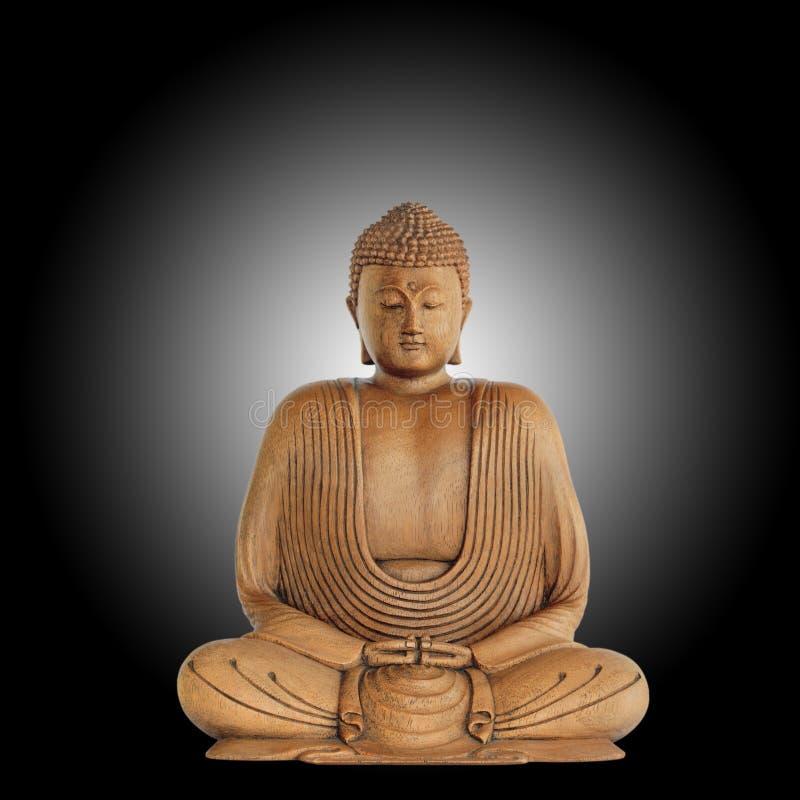 Símbolo de Buddha da paz fotos de stock