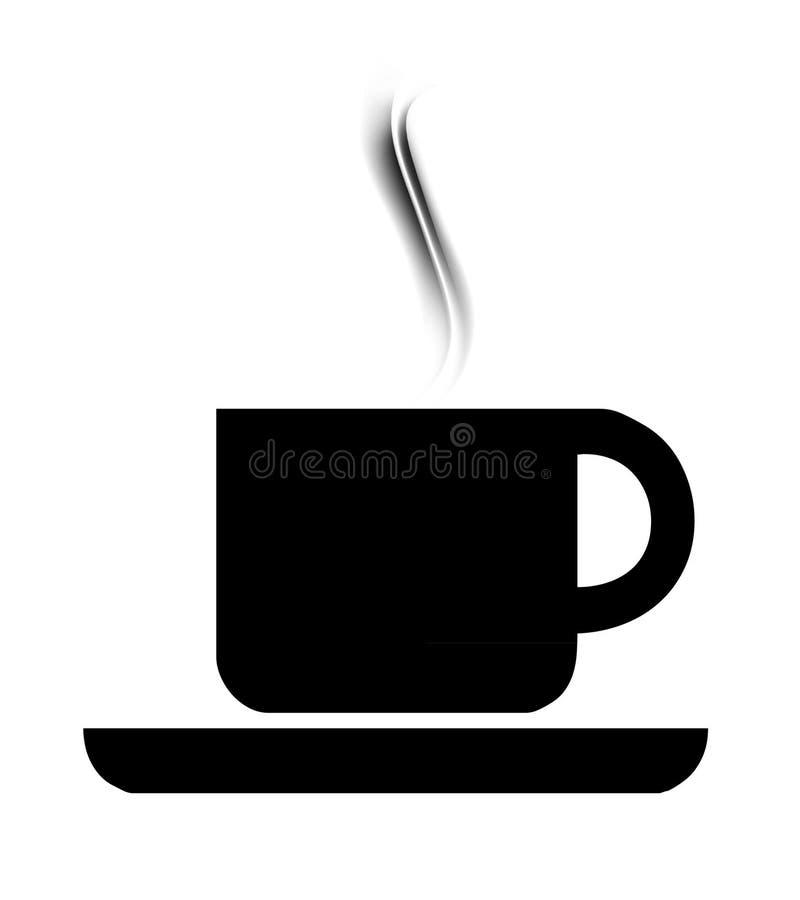 Símbolo de Cofee ilustração stock
