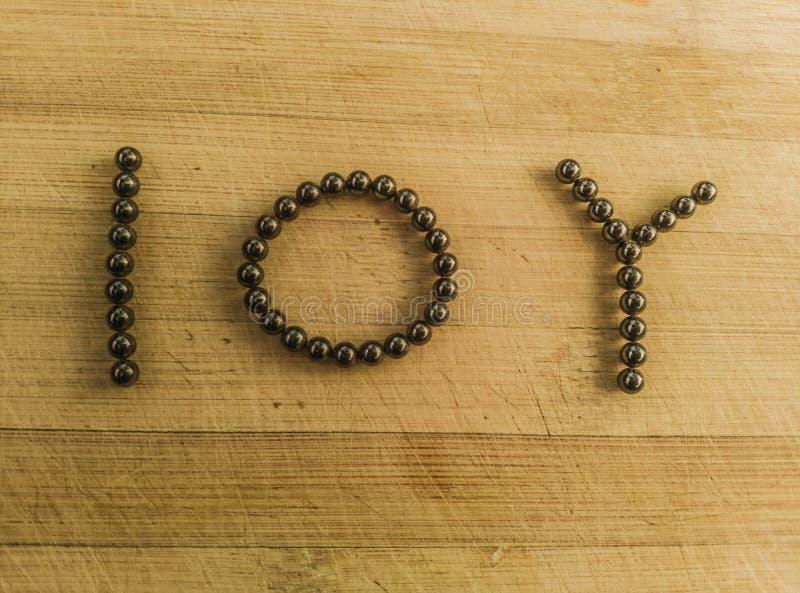 Símbolo de dez anos financeiro nos rolamentos de esferas magnéticos foto de stock