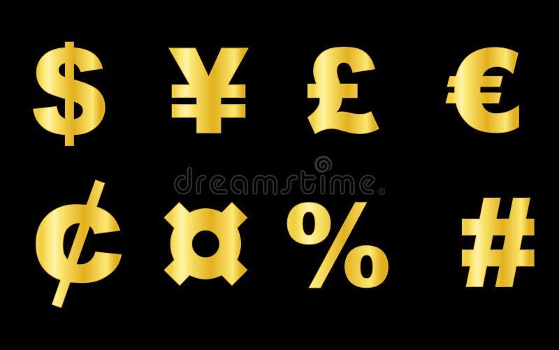 Símbolo de dinero en circulación