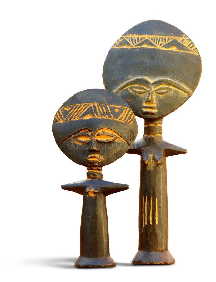 Símbolo de fertilidade africano imagem de stock royalty free