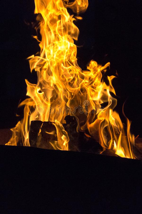 Símbolo de fogo da paixão e do amor imagem de stock royalty free