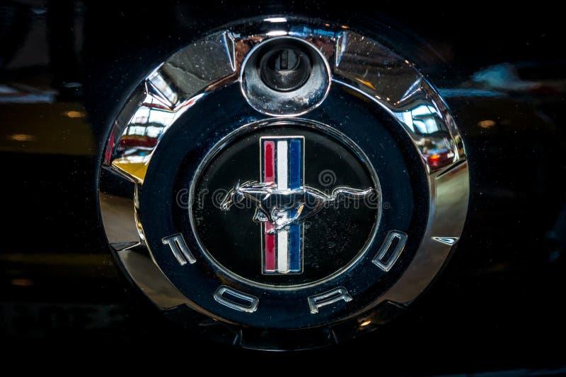 Símbolo de Ford Mustang, primer fotos de archivo libres de regalías