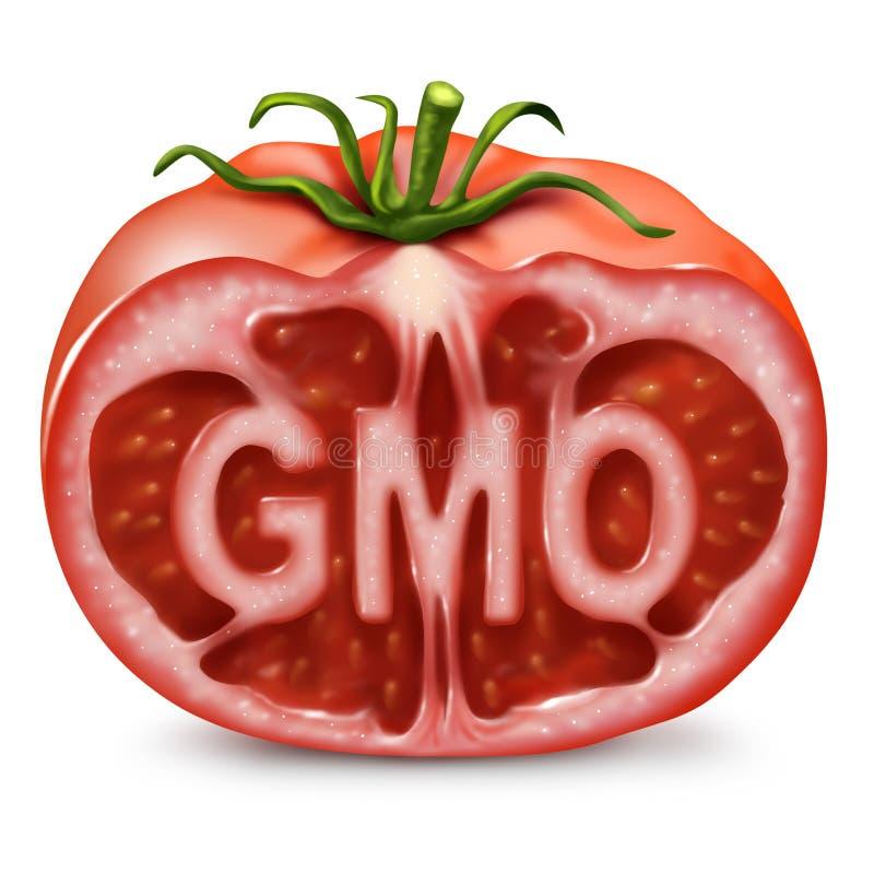 Símbolo de la comida de la OGM stock de ilustración