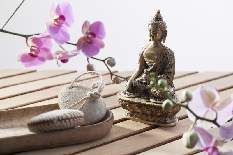 Símbolo de la cultura asiática para la belleza interna imagen de archivo