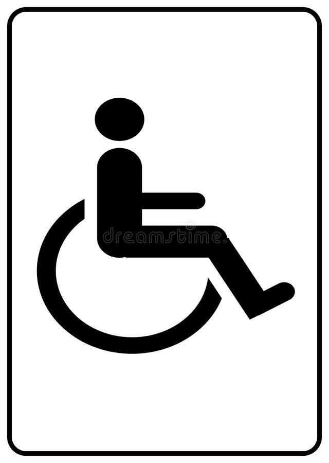 Símbolo De La Desventaja Imagen de archivo