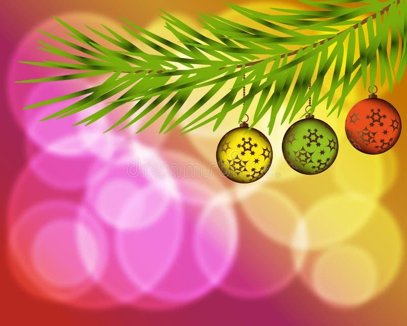 Símbolo de la Feliz Año Nuevo, celebración del día de fiesta de Navidad, invierno Diseño plano para la tarjeta Ilustración del ve ilustración del vector