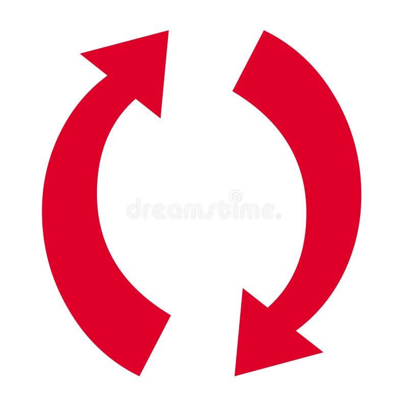 Símbolo de la flecha libre illustration