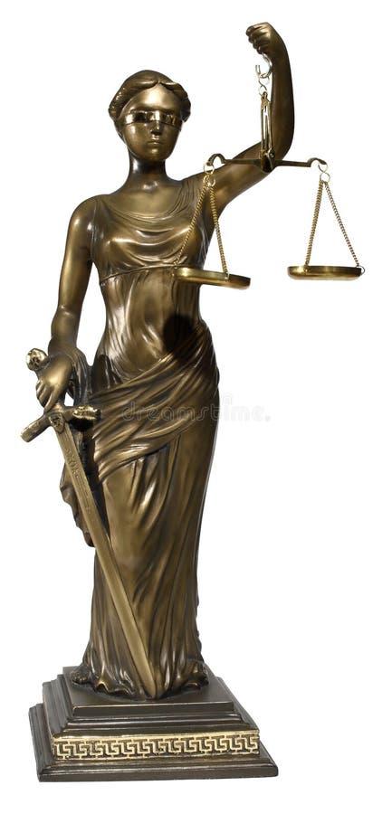 Símbolo de la justicia imágenes de archivo libres de regalías