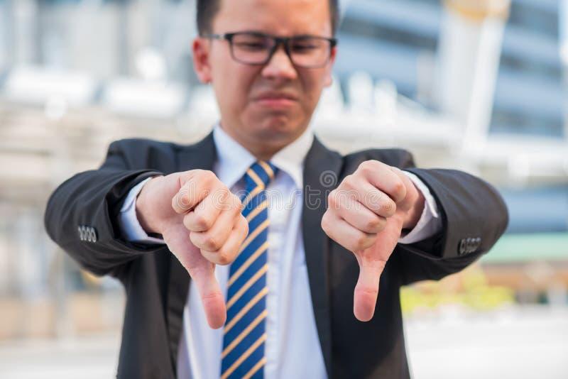 Símbolo de la mano, fracasado y fall foto de archivo libre de regalías