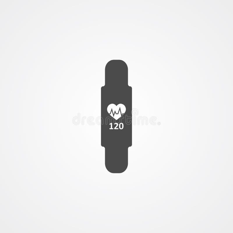 Símbolo de la muestra del icono del vector de la banda de la aptitud stock de ilustración