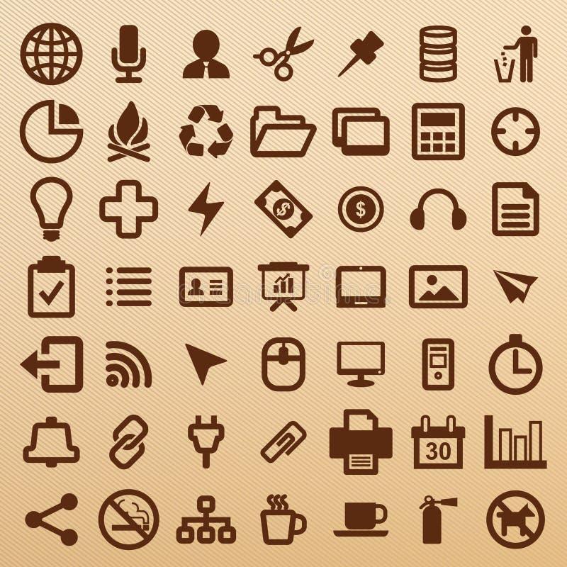 Símbolo de la oficina imágenes de archivo libres de regalías