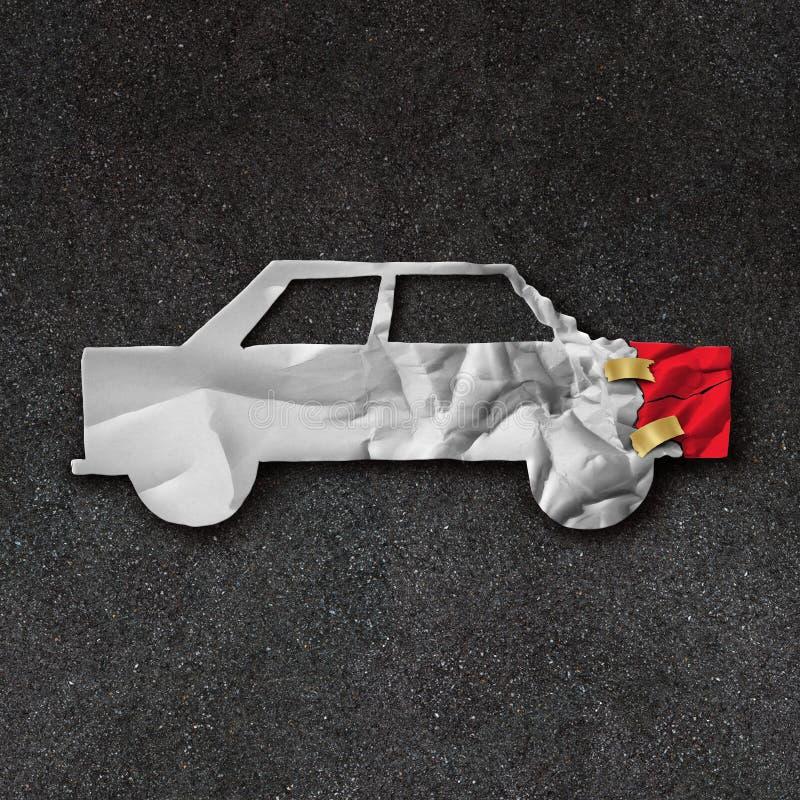 Símbolo de la reparación del coche ilustración del vector
