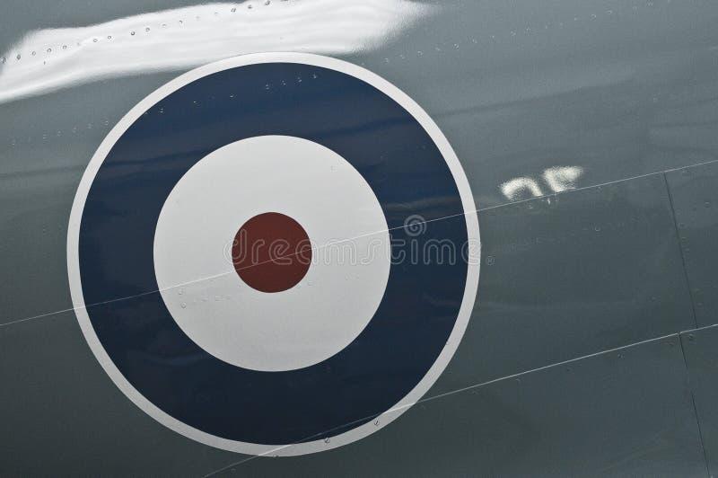 Símbolo de la Royal Air Force fotografía de archivo