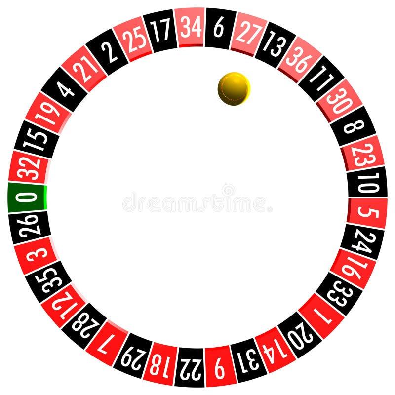 Símbolo de la ruleta stock de ilustración