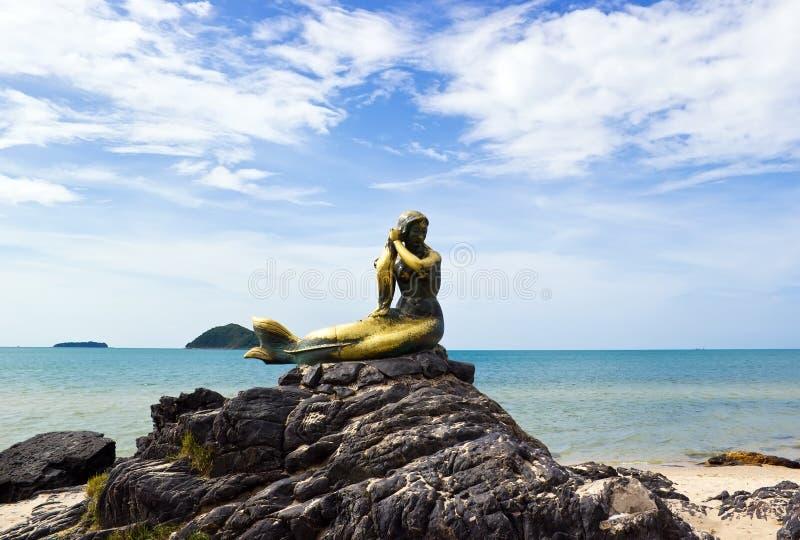 Símbolo de la sirena de Songkhla fotografía de archivo libre de regalías