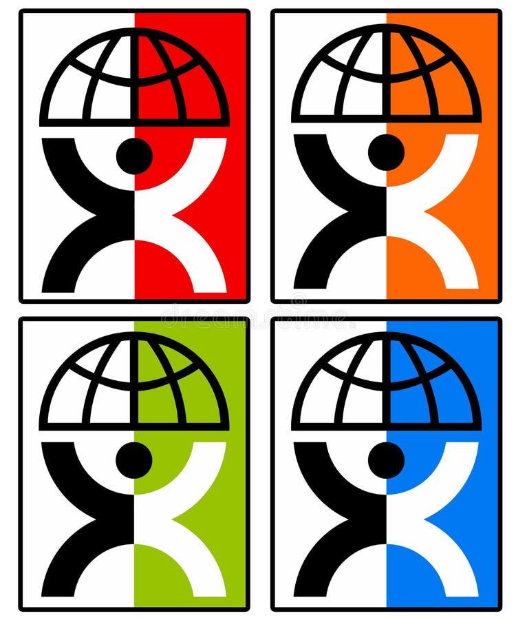 Símbolo de la unidad ilustración del vector