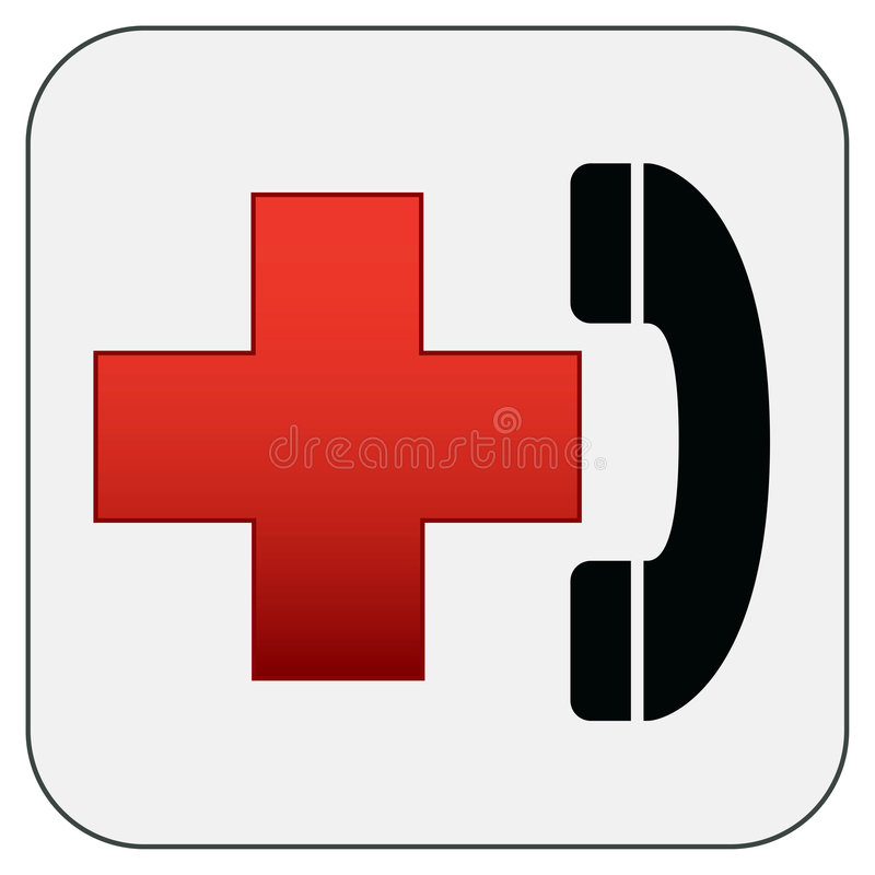 Símbolo de los primeros auxilios libre illustration
